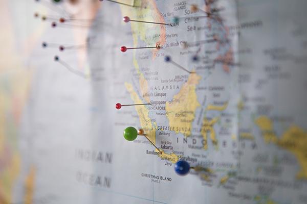 Mappa dell'Indonesia: una cartina interattiva per te