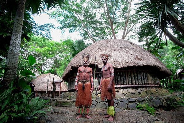 tradizioni tribali Papua