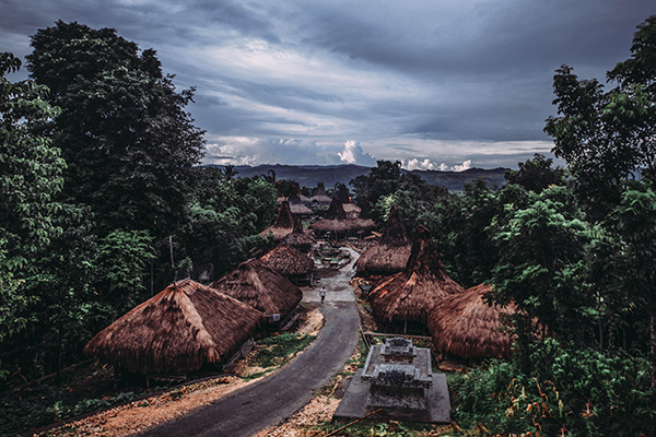 Villaggio tribale Sumba