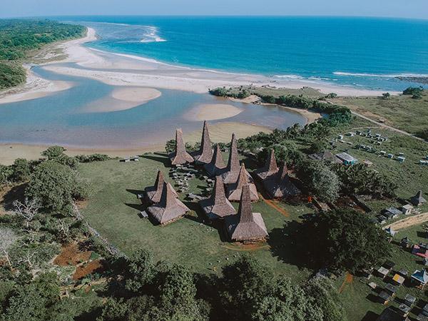 Villagio tribale Ratenggaro Sumba