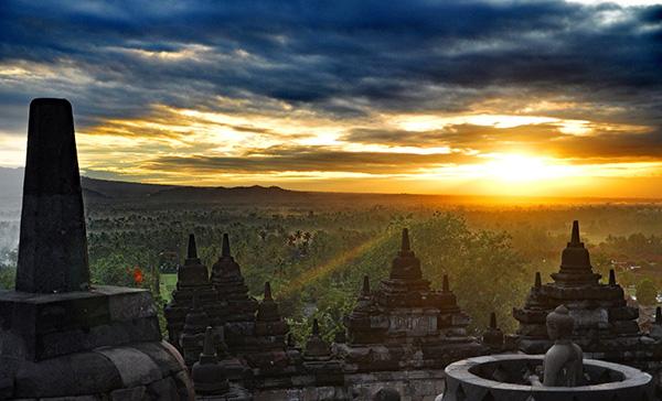 quando visitare il Borobudur