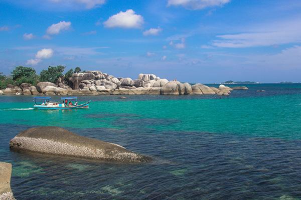 Isola di Belitung: il mare più bello in Indonesia