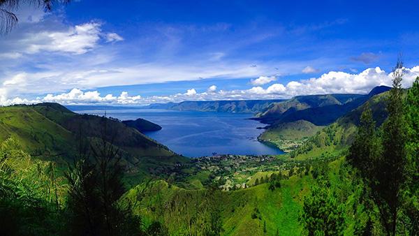 Sumatra lago Toba