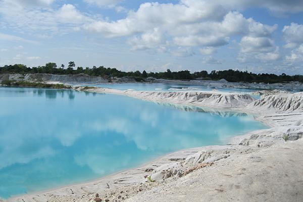 Lago di caolino