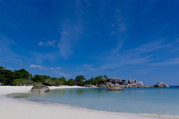 spiagge di Belitung