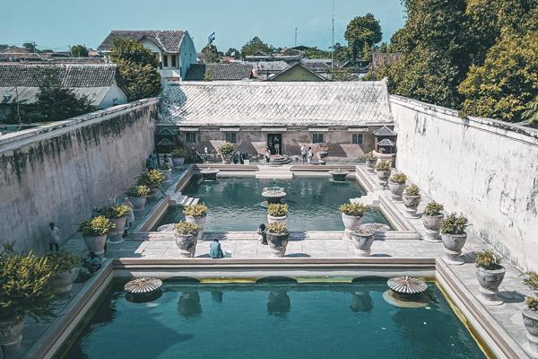 palazzo storico Yogyakarta